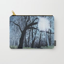Strange Forest, Forest Painting Carry-All Pouch