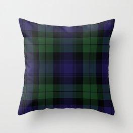 BLACK WATCH TARTAN Throw Pillow