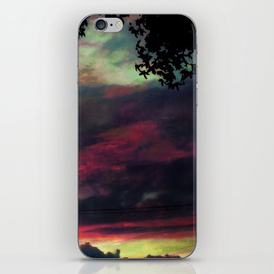 Thick as the Day's End iPhone Skin