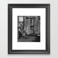 Subtle Framed Art Print