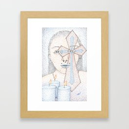 plank in the eye Framed Art Print