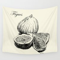 fig Wall Tapestries featuring Fig by Benoit Springer