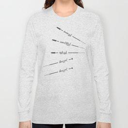 Guns vs Sling Shot Long Sleeve T-shirt