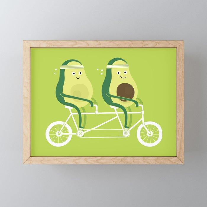 AvoCardio Framed Mini Art Print