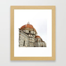 Basilica Santa Maria Del Fiore Duomo Framed Art Print