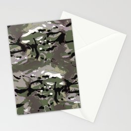 Camo Camo, and the art of disappearing. Stationery Cards