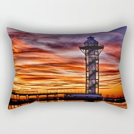Bicenntenial Tower at Sunset Rectangular Pillow