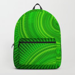 Green Star Formation Mandala Backpack