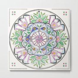 Mandala Floribunda Metal Print