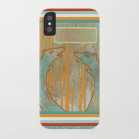 foxes iPhone & iPod Cases featuring Foxes by Ariel Wilson