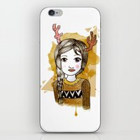 hippie iPhone & iPod Skins featuring Hippie by Janreh