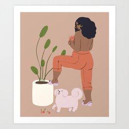 juicy fruit Art Print