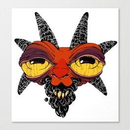 Goat Goo Canvas Print