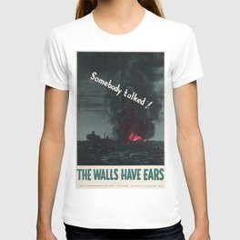 Vintage poster - Loose lips T-shirt