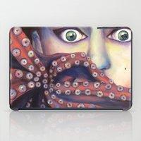 ursula iPad Cases featuring Inner Ursula by Lisa Buchfink