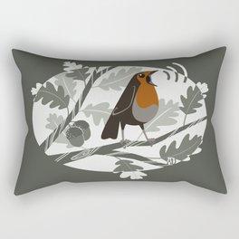 I Just Won't Shut Up (steel green) Rectangular Pillow