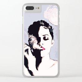 La nuit Clear iPhone Case