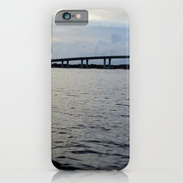 Early evening on the St Lucie River iPhone Case