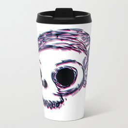 3D Skull Metal Travel Mug