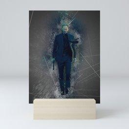 John Wick Abstract Mini Art Print