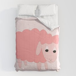 PINK SHELLY SHEEP Comforters