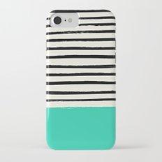 Mint x Stripes Slim Case iPhone 7