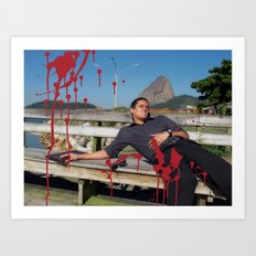 Locals Only - Rio de Janeiro Art Print