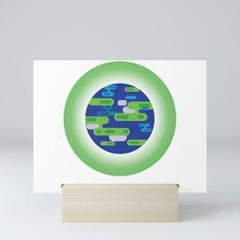 Save the Planet Earth  Mini Art Print