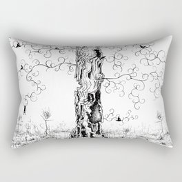 Hangin' Loose & Swingin' on Life Rectangular Pillow