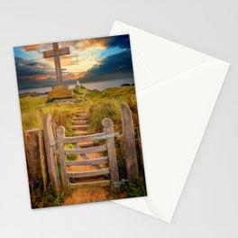 Llanddwyn Island Sunset Anglesey Stationery Cards