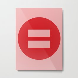 Equal Love #3 Metal Print