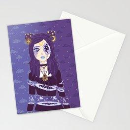 Celestial Witch Stationery Cards