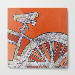 Bike Charlottesville Virginia  Metal Print