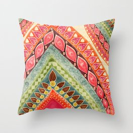 Indian Spirt Throw Pillow