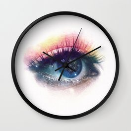 Flower Of Life (Cosmic Vision) Wall Clock