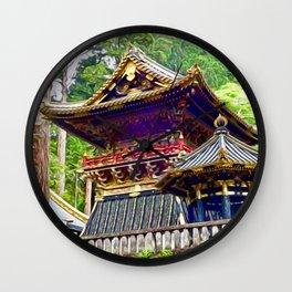 Tosho-gu Shrine, Nikko, Japan Wall Clock