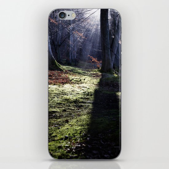 Fairy tale, forest landscape iPhone & iPod Skin