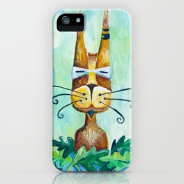 Roofus Whiskers The Cat iPhone Case