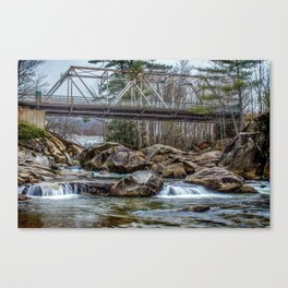 Baker River Canvas Print