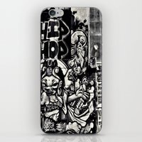 hip hop iPhone & iPod Skins featuring Hip Hop by J. Unger Photography