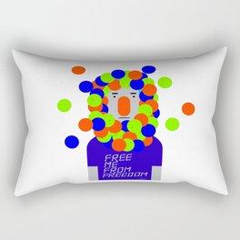 NICE COLORFUL GUY Rectangular Pillow