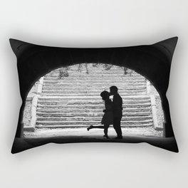Love Story in Central Park Rectangular Pillow