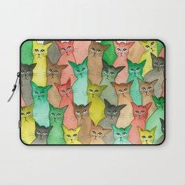 Toledo Many Whimsical Cats Laptop Sleeve