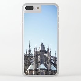 Reaching for the Skies Clear iPhone Case
