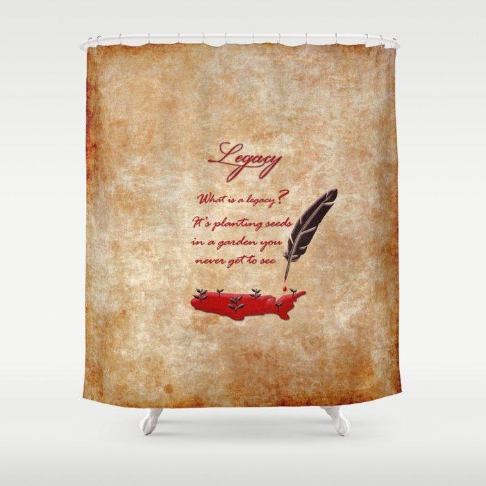 Hamilton Legacy Shower Curtain