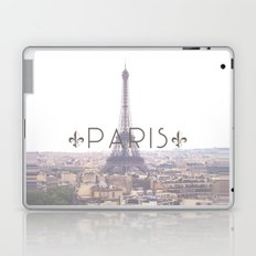 Eiffel Tower with Paris Laptop & iPad Skin