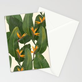 tropical floral Stationery Cards