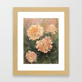 Pionit Framed Art Print