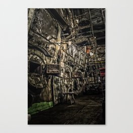 The Boiler Room Canvas Print