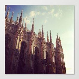 My world: Duomo - Milan Canvas Print